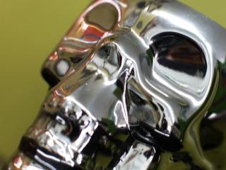 The Ace and Sword Tattoo Parlour Etobicoke Longbranch Toronto Chrome Skull