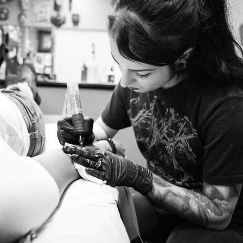 The Ace and Sword Tattoo Parlour Etobicoke Longbranch Toronto Danielle Profile Picture