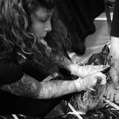 The Ace and Sword Tattoo Parlour Etobicoke Longbranch Toronto Kelly Profile Picture