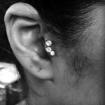The Ace and Sword Tattoo Parlour Etobicoke Longbranch Toronto Piericing by Mel-Healed Tragus