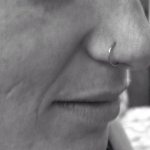 The Ace and Sword Tattoo Parlour Etobicoke Longbranch Toronto Piericing by Mel-Simple Nostril Piercing