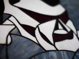 The Ace and Sword Tattoo Parlour Etobicoke Longbranch Toronto Skull Stained Glass