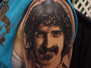 The Ace and Sword Tattoo Parlour Etobicoke Longbranch Toronto Tattoo by Danielle-Frank Zappa