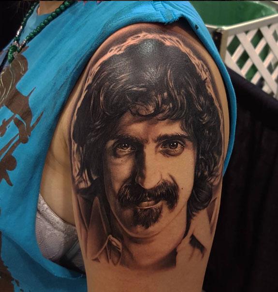 The Ace and Sword Tattoo Parlour Etobicoke Longbranch Toronto Tattoo by Danielle-Frank Zappa