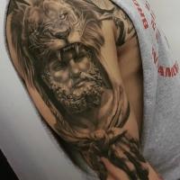 The Ace and Sword Tattoo Parlour Etobicoke Longbranch Toronto Tattoo by Danielle-Greek Theme