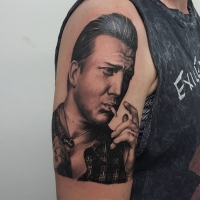 The Ace and Sword Tattoo Parlour Etobicoke Longbranch Toronto Tattoo by Danielle-Josh Homme