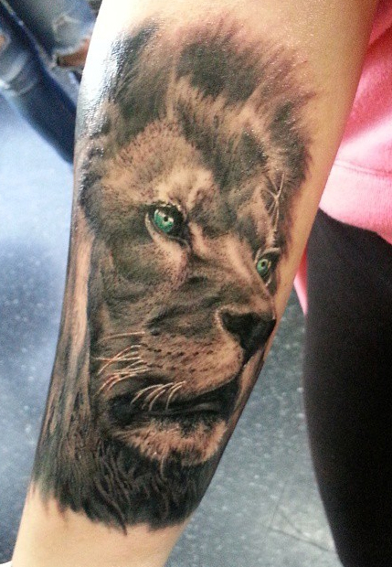 The Ace and Sword Tattoo Parlour Etobicoke Longbranch Toronto Tattoo by Danielle-Lion King