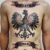 The Ace and Sword Tattoo Parlour Etobicoke Longbranch Toronto Tattoo by Danielle-Polish Flag