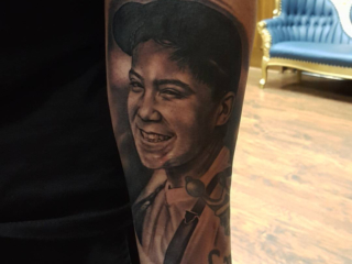 The Ace and Sword Tattoo Parlour Etobicoke Longbranch Toronto Tattoo by Danielle-Portrait