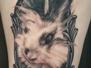 The Ace and Sword Tattoo Parlour Etobicoke Longbranch Toronto Tattoo by Danielle-Rabbit