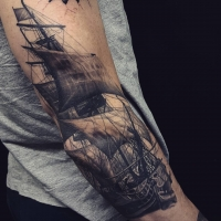 The Ace and Sword Tattoo Parlour Etobicoke Longbranch Toronto Tattoo by Danielle-Ship