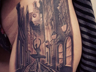 The Ace and Sword Tattoo Parlour Etobicoke Longbranch Toronto Tattoo by Danielle-Venice