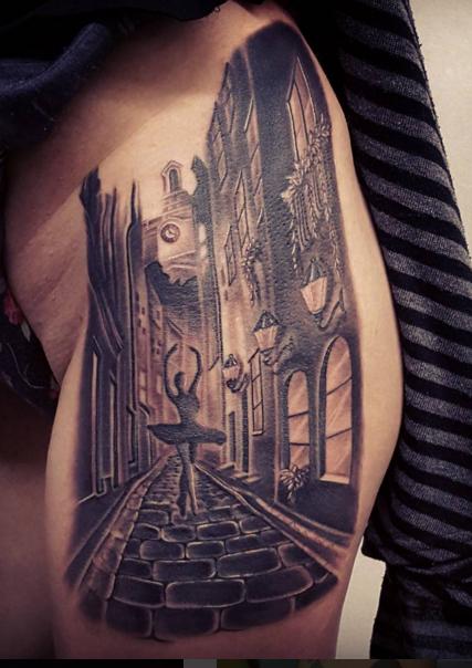 The Ace and Sword Tattoo Parlour Etobicoke Longbranch Toronto Tattoo by Danielle-Venice