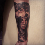 The Ace and Sword Tattoo Parlour Etobicoke Longbranch Toronto Tattoo by Danielle-Wolf
