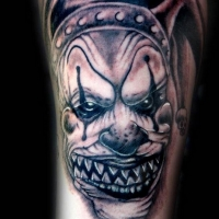 The Ace and Sword Tattoo Parlour Etobicoke Longbranch Toronto Tattoo by Dave-Evil Clown