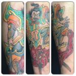 The Ace and Sword Tattoo Parlour Etobicoke Longbranch Toronto Tattoo by Dave-Japanese Warrior