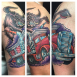 The Ace and Sword Tattoo Parlour Etobicoke Longbranch Toronto Tattoo by Dave-No Bull