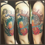 The Ace and Sword Tattoo Parlour Etobicoke Longbranch Toronto Tattoo by Dave-Sailor Girl