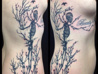 The Ace and Sword Tattoo Parlour Etobicoke Longbranch Toronto Tattoo by Dave-Skeleton Tree