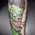 The Ace and Sword Tattoo Parlour Etobicoke Longbranch Toronto Tattoo by Dave-The Cramps