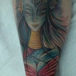 The Ace and Sword Tattoo Parlour Etobicoke Longbranch Toronto Tattoo by Elyse-Alien Lady