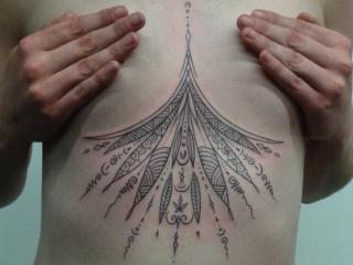 The Ace and Sword Tattoo Parlour Etobicoke Longbranch Toronto Tattoo by Elyse-Geometric