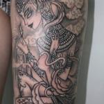 The Ace and Sword Tattoo Parlour Etobicoke Longbranch Toronto Tattoo by Elyse-Goddess