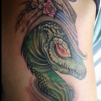 The Ace and Sword Tattoo Parlour Etobicoke Longbranch Toronto Tattoo by Elyse-Lizard Lady