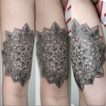 The Ace and Sword Tattoo Parlour Etobicoke Longbranch Toronto Tattoo by Elyse-Mandala Arm