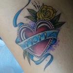 The Ace and Sword Tattoo Parlour Etobicoke Longbranch Toronto Tattoo by Elyse-Mom Heart