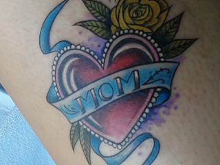 The Ace and Sword Tattoo Parlour Etobicoke Longbranch Toronto Tattoo by Elyse-Mom Heart