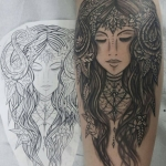 The Ace and Sword Tattoo Parlour Etobicoke Longbranch Toronto Tattoo by Elyse-Mother Nature