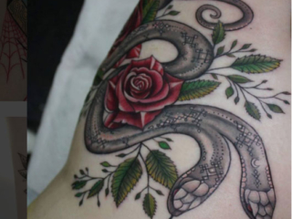 The Ace and Sword Tattoo Parlour Etobicoke Longbranch Toronto Tattoo by Elyse-Snakes