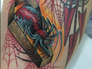 The Ace and Sword Tattoo Parlour Etobicoke Longbranch Toronto Tattoo by Elyse-Spider