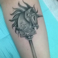 The Ace and Sword Tattoo Parlour Etobicoke Longbranch Toronto Tattoo by Elyse-Unicorn Hobby Horse