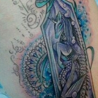 The Ace and Sword Tattoo Parlour Etobicoke Longbranch Toronto Tattoo by Elyse-Unicorn in Bottle