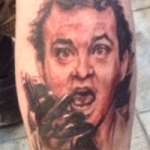 The Ace and Sword Tattoo Parlour Etobicoke Longbranch Toronto Tattoo by Kelly-Bill Murray Portrait