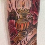 The Ace and Sword Tattoo Parlour Etobicoke Longbranch Toronto Tattoo by Kelly-Lantern