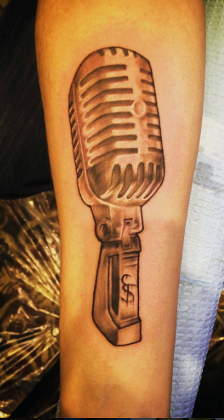 The Ace and Sword Tattoo Parlour Etobicoke Longbranch Toronto Tattoo by Kelly-Microphone