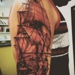 The Ace and Sword Tattoo Parlour Etobicoke Longbranch Toronto Tattoo by Kelly-Ship