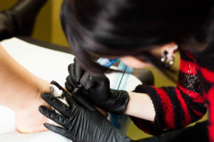 The Ace and Sword Tattoo Parlour Etobicoke Longbranch Toronto Danielle Tattooing
