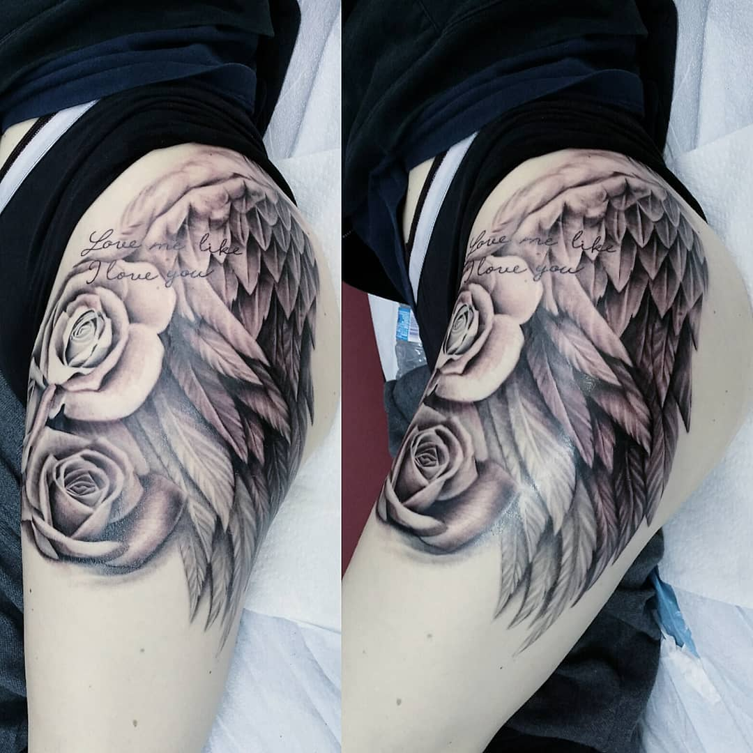 Tattoo By Laurajadetattoos Laura: Tattoo Artist At The Ace And Sword Tattoo Parlour