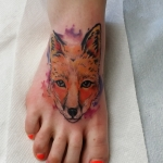 The Ace and Sword Tattoo Parlour Etobicoke Longbranch Toronto Tattoo by Laura-Fox on foot